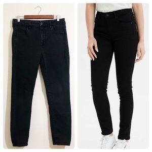 AE Next Level Stretch Skinny Jeans 12 Short